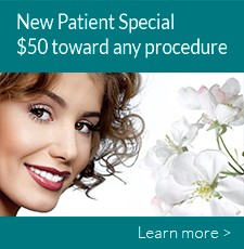 New Patient Special $50 toward any procedure. Learn more.